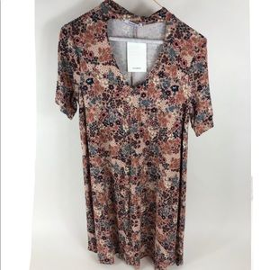 Pull and Bear Floral Dress